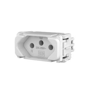 Módulo Tomada 2P+T 20A/250V Branco Composé WEG