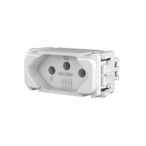 Módulo Tomada 2P+T 20A/250V Nobac Branco WEG