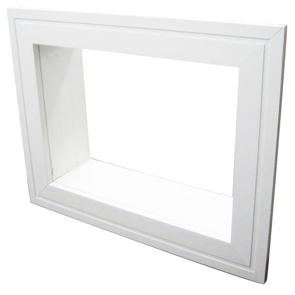 Moldura para ar condicionado janela de madeira 49x36cm - Molduras leroy merlin ...