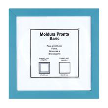 Moldura Pronta Basic Azul 20x20cm Casa Castro
