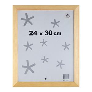 Moldura Pronta Basic Natural 24x30cm Inspire