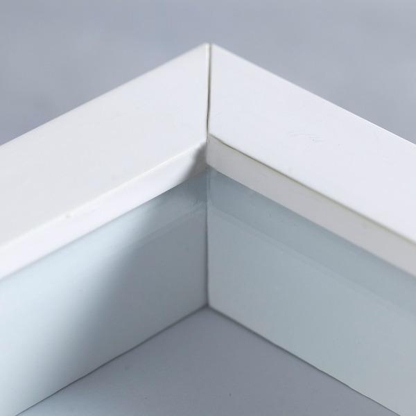 Moldura pronta caixa branca 30x40cm leroy merlin - Leroy merlin molduras pared ...