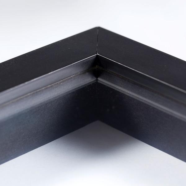 moldura pronta caixa preta 30x40cm leroy merlin. Black Bedroom Furniture Sets. Home Design Ideas