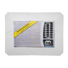 Moldura Regulável para Ar Condicionado Janela Branco de 5000 até 30000 BTUs Molduflex
