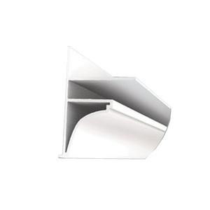 Moldura Rígido de PVC 3m Confibra