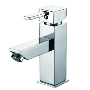 Monocomando para Banheiro Bica Baixa Cromado Prata Luka Sensea