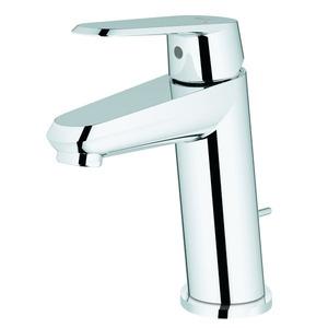 Monocomando para Banheiro Mesa Bica Baixa Cromado Eurodisc Grohe