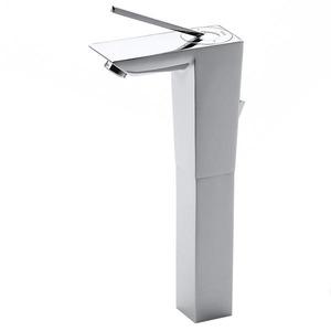 Monocomando para Banheiro Mesa Bica Alta Cromado Touch Roca