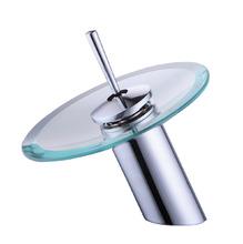 Monocomando para Banheiro Mesa Bica Baixa Cromado Victoria Led Sensea