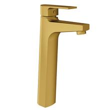 Monocomando para Banheiro Mesa Bica Alta Dourada Bold Fani