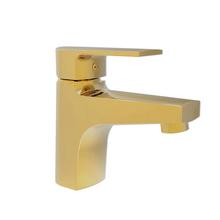 Monocomando para Banheiro Mesa Bica Baixa Dourada Bold Fani