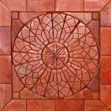 Mosaico 100 x 100 cm Cerâmica Natural Sol Nascente Natural Cerâmica Fênix