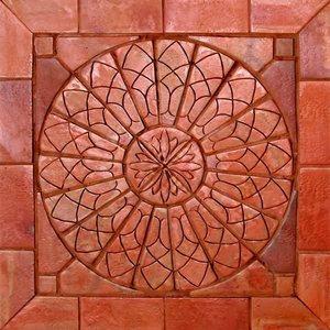 Mosaico cer mica terracota natural natural msn sol - Mosaico leroy merlin ...