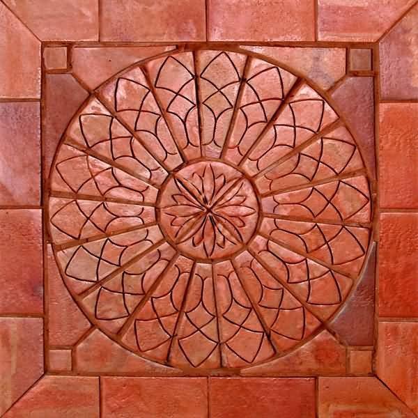 Mosaico cer mica terracota natural natural msn sol for Compro ceramica para piso