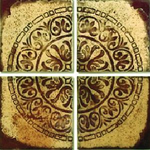 Mosaico 35 x 35 cm Cerâmica Natural LTMS 3535 Verde Fênix