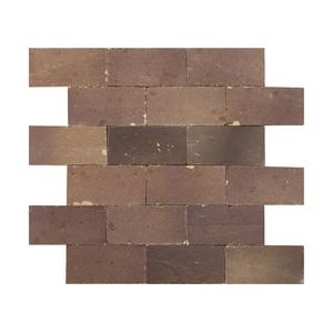 Mosaico Brick Bege Natural 31,5x27cm