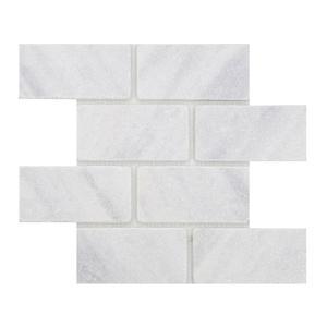 Mosaico Brique Branco 35x29,5cm Artens
