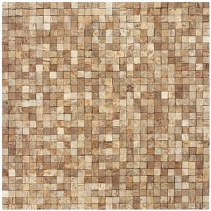 Mosaico Casca de Coco Acetinado Eccos Ilha Bela 30x32cm Colormix