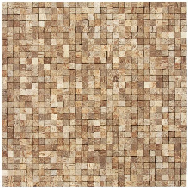 Mosaico casca de coco acetinado eccos ilha bela 30x32cm - Mosaico leroy merlin ...