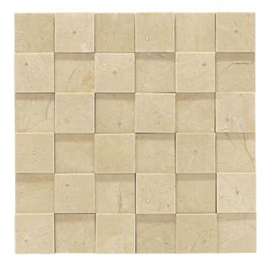 Mosaico m rmore com swarovski crema marfil mpc50002 for Mosaico leroy merlin