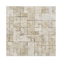 Mosaico Corália Travertino Bege 28x28cm Artens