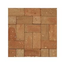 Mosaico Forma Vermelho Natural 27x27cm Artens