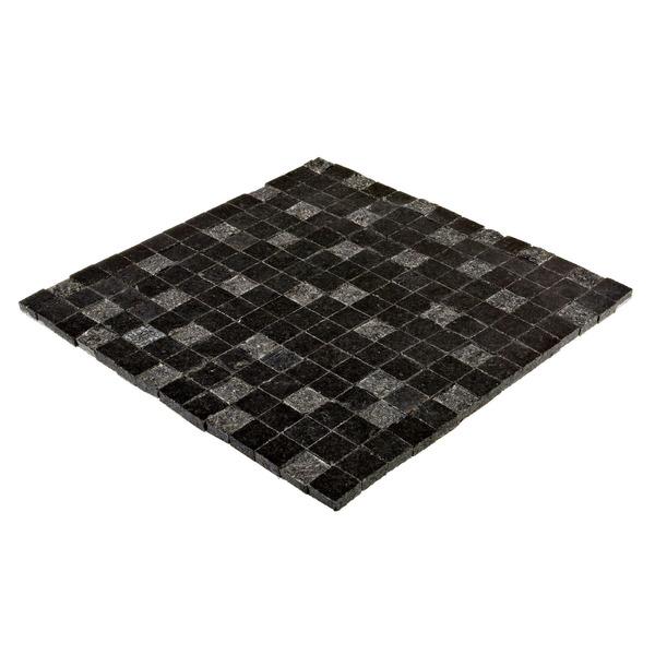 Mosaico granito acetinado gabriel dustin 28x28cm trento - Mosaico leroy merlin ...