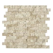 Mosaico Mármore Bege Canjiquinha Travertino 28x28cm Artens