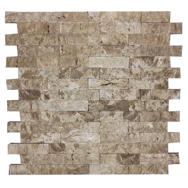Mosaico m rmore bege travertino 28x28cm trento marmi - Mosaico leroy merlin ...