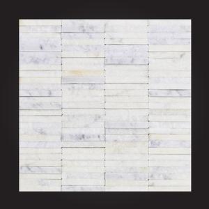 Mosaico Mármore Branco Carrara 28x28cm Artens
