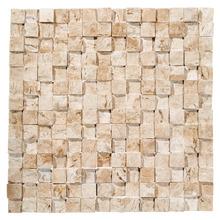 Mosaico Mármore Acetinado Cameron 28x28cm Trento Marmi