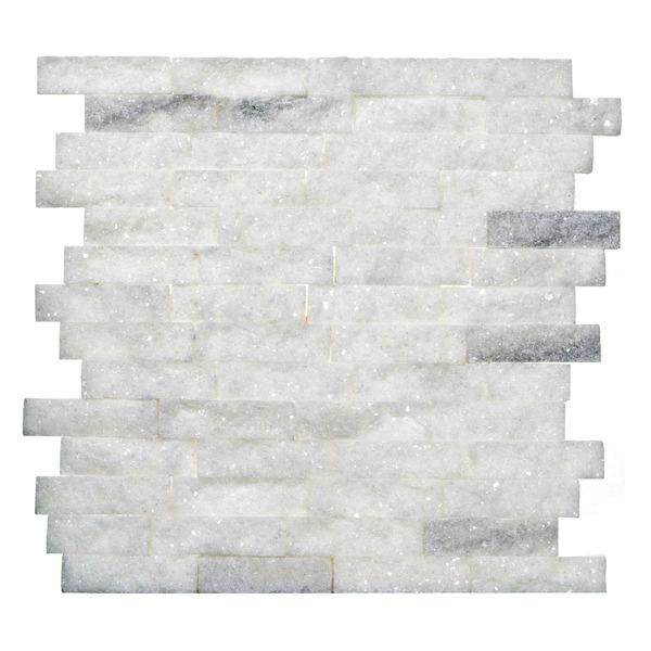 Mosaico m rmore acetinado canjiquinha 28x28cm trento marmi - Mosaico leroy merlin ...