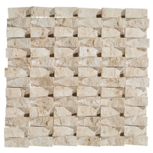 Mosaico Mármore Acetinado Cunha Spacato 28x28cm Trento Marmi