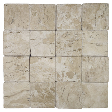 Mosaico Mármore Acetinado Gayla 28x28cm Trento Marmi