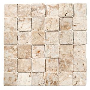 Mosaico m rmore acetinado gayla 28x28cm trento marmi for Mosaico leroy merlin