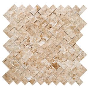 Mosaico Mármore Acetinado Wave 28x28cm Trento Marmi
