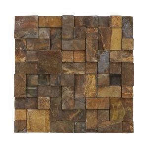 Mosaico Pedra Ferro 30x30cm Villas Decor