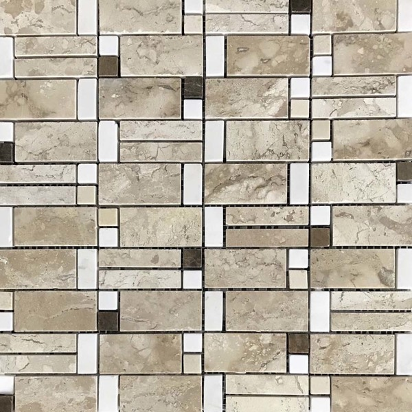 Mosaico pedra mm 0506 31 5x31 5cm anticatto leroy merlin for Mosaico leroy merlin