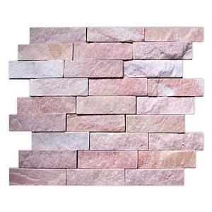Mosaico Pedra Napoli Rubro 28X34
