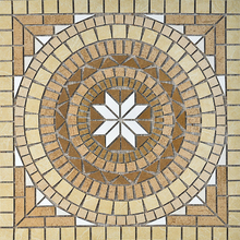 Mosaico Rosone 02C 82x82cm Anticatto