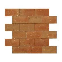 Mosaico Tijolo Vermelho Natural 31,5x27cm