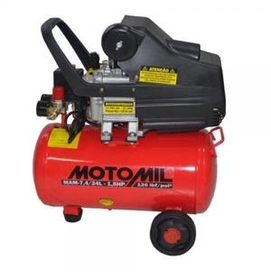 Motocompressor 1,5HP 120Lbs Monofasico 127V (110V) Motomil