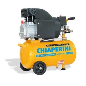Motocompressor 220V MC7.6 24L 2Hp sem kit Chiaperini