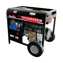 Motosoldador Toyama Diesel 50-180A 4500W 2x1 TD7000SXEW Toyama