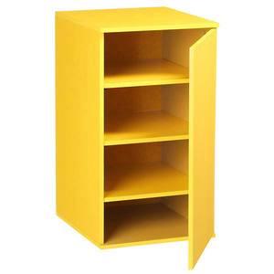 Móvel de Apoio Fit Color Amarelo com Porta  35x38,5x65cm