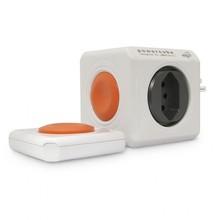 Multiplicador PowerCube Extended Remote Branco e Cinza ELG