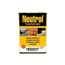 Neutrol Líquido Viscoso Preto Densidade 0,9 G/CM³ Tinta Asfáltica para Concreto Alvenaria Metal Madeira Lata 18L