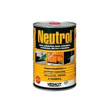Neutrol Líquido Viscoso Preto Densidade 0,9 G/CM³ Tinta Asfáltica para Concreto Alvenaria Metal Madeira Lata 900 ml