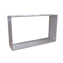 Nicho 30x50x12cm Metal Branco Retangular Silence Zamar