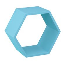 Nicho Colmeia Madeira Azul 32x37x19x18cm MUVE
